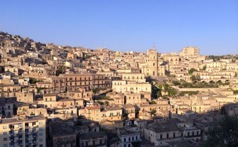 Modica - world heritage site