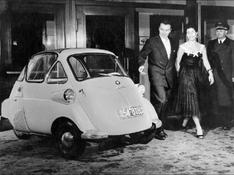 Isetta Bubble Car