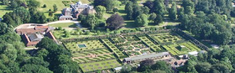 Scampston walled garden