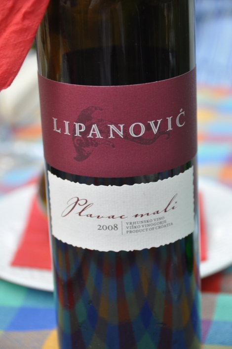 Excellent local wine