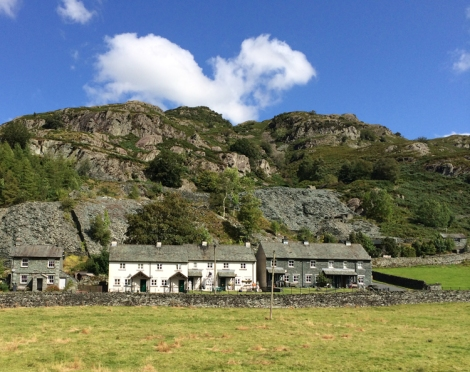 Restored cottages in Langdale