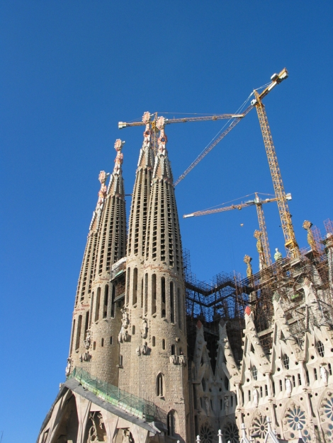 Sagrada Familia...still building