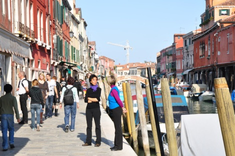 Murano, by contrast, is bustling and more like the city
