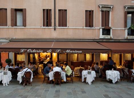 Five Wonderful Restaurants in Venice