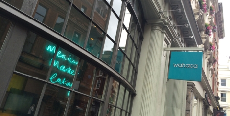 Wahaca Covent Garden