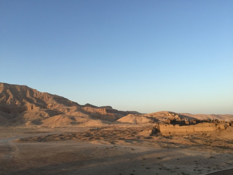 The Valley of the Kings and Old Gourna