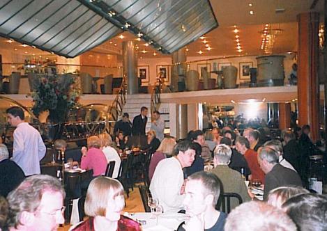Quaglino's Christmas 1998
