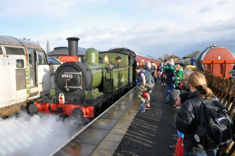 The Wensleydale Railway Santa Special...