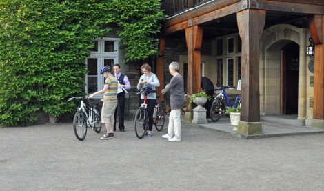 Electric bikes - it's hilly in the Lakes...