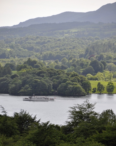 Views across to Windermere