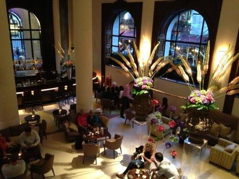 ...the lobby bar
