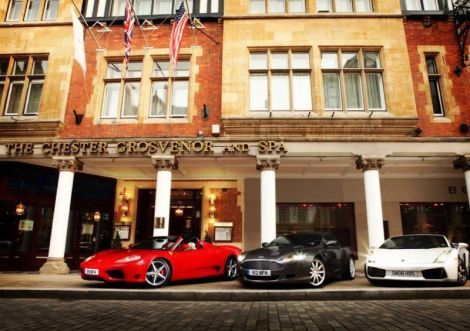 ...with Ferrari