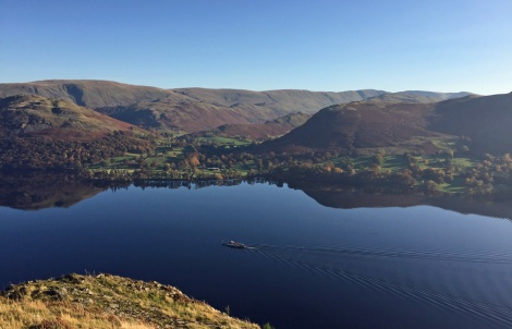 Ullswater steamer - this is November!