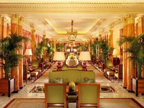 The main foyer - or promenade...
