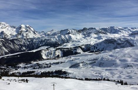Courvevel view