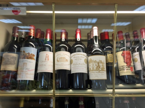 A local supermarket in Courchevel...Chateau Ausonn?