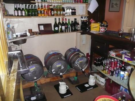 Barrels and jugs...