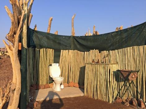 Desert toilet...