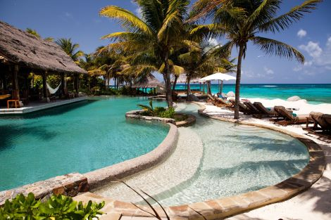 Necker Island Beach Pool