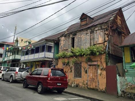 Dominica's capital, Roseau...